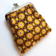 Retro Marigold Purse